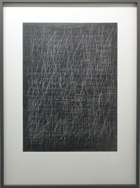 , 'The Edge of Silence (Drawing),' 2017, bo.lee gallery