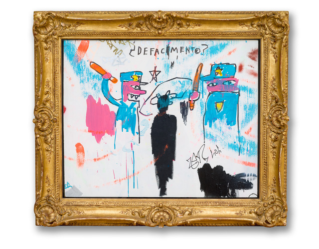 Jean-Michel Basquiat, 'Defacement (The Death of Michael Stewart)', 1983, Guggenheim Museum