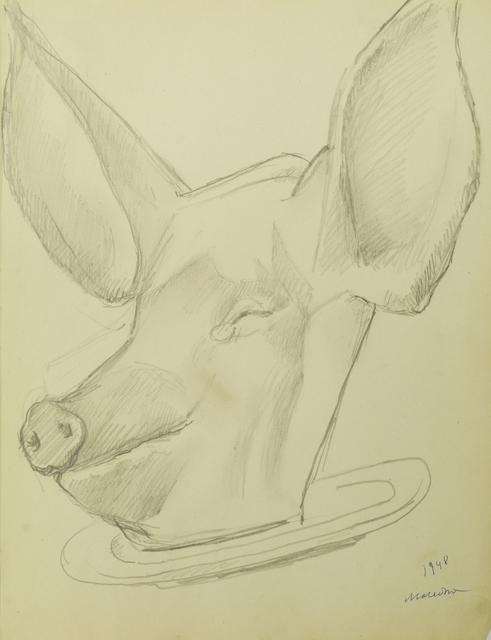 Marie Vorobieff Marevna, 'Tête de cochon', 1948, Roseberys