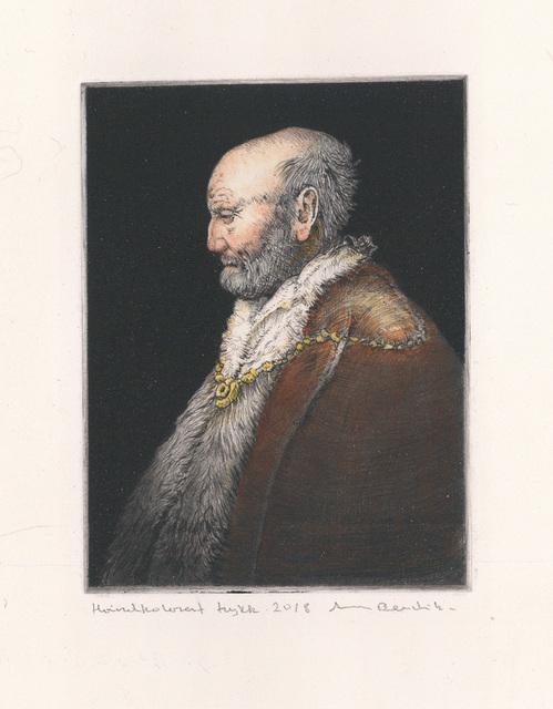 , 'Rembrandt`s father IV,' 2018, Kunstverket Galleri