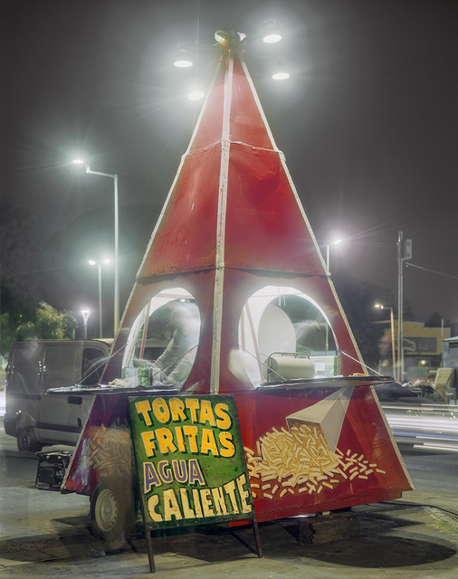 , 'Pyramid Carrito Selling French Fries, Costanera, Parana, Entre Rios Province, Argentina,' 2012, Robert Klein Gallery