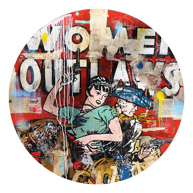 Greg Miller, 'Woman Outlaws', 2019, JoAnne Artman Gallery