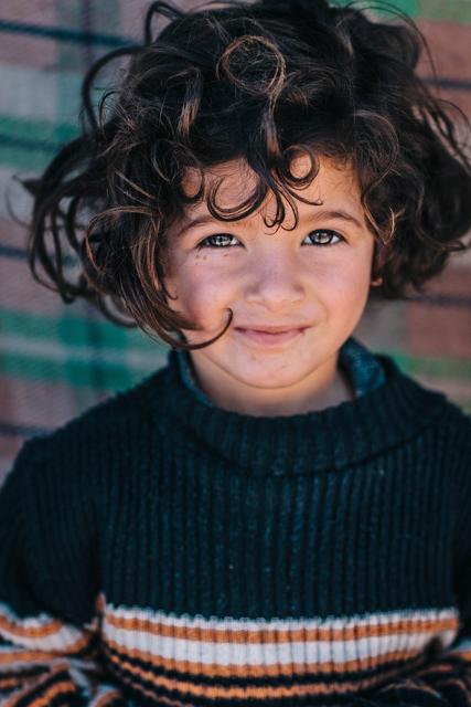 , 'Syrian Girl,' 2015, Hilton Asmus