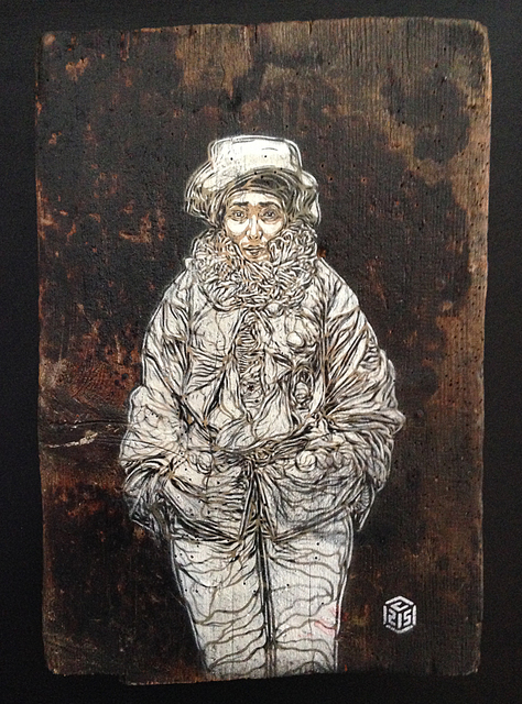 C215, 'Sarah' (small)', 2014, StolenSpace Gallery