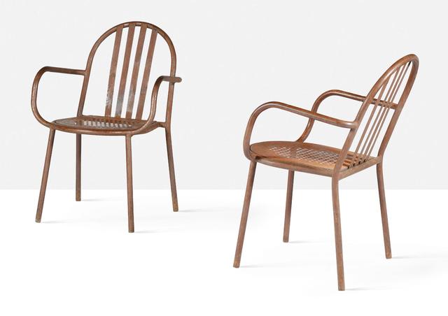 Robert Mallet-Stevens, 'Pair of armchairs', circa 1950, Aguttes