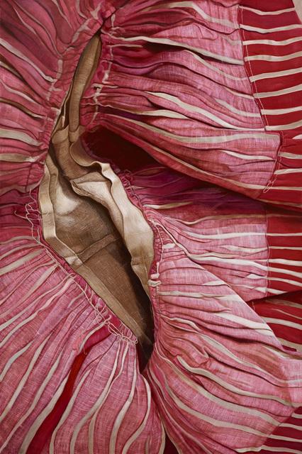, 'Red and White Stripes,' 2014, Mind Set Art Center