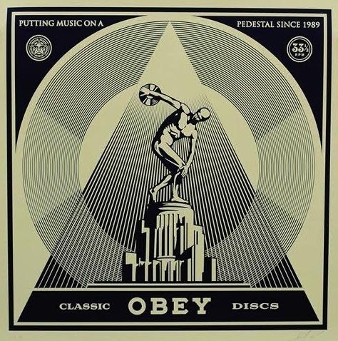 Shepard Fairey, 'Classic Discs', 2014, Vertu Fine Art