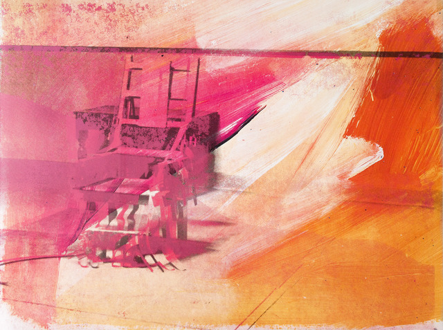 , 'Electric Chair,' 1971, Sims Reed Gallery