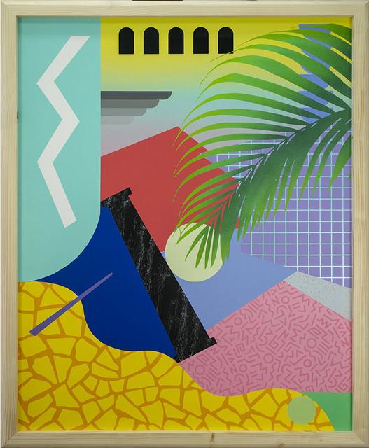 Antonyo Marest, 'Sonny', 2020, Painting, Synthetic Enamel on Dibond, StolenSpace Gallery