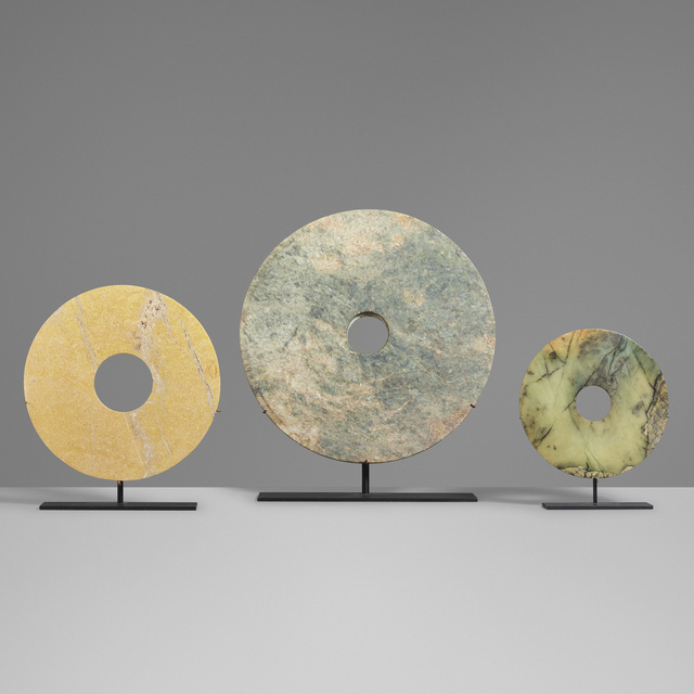 'Collection of three Bi discs', Other, Jade, Rago/Wright