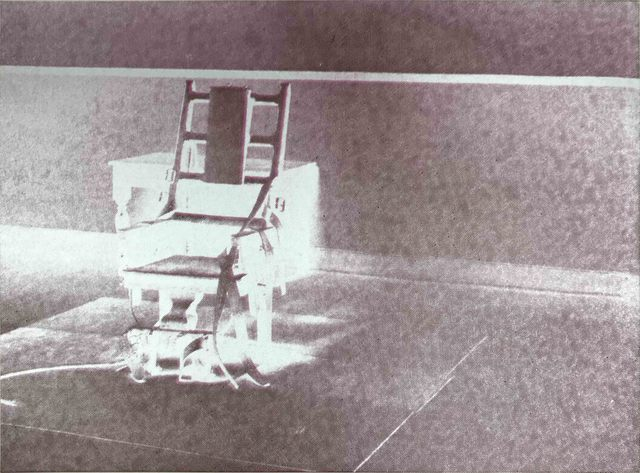 , 'Electric Chairs II.78,' 1971, Hamilton-Selway Fine Art