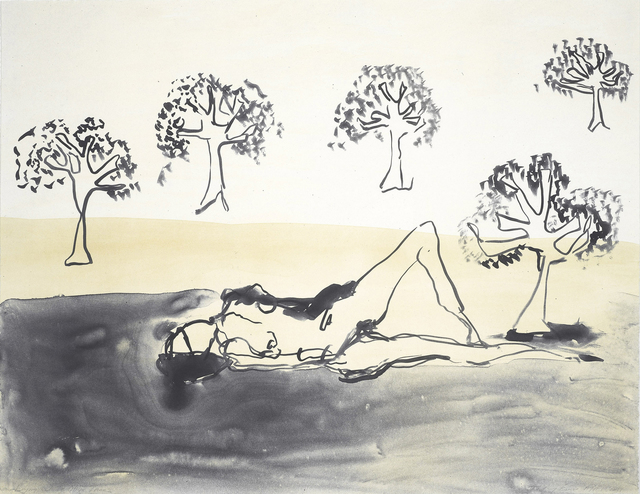 Tracey Emin, 'Laying with the Olive Trees', 2011, Equal Means Equal: Benefit Auction 2019
