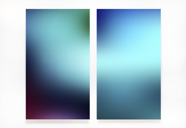 ", 'Untitled (Diptych), from the series ""Light Surface"",' 2017, Artig Gallery"
