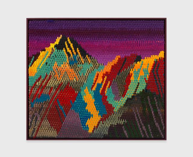 , 'Purple Mountain,' 2016, The Hole