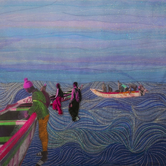, 'Waves under my eyelids, Series Alba'hian,' 2019, Gallery 1957