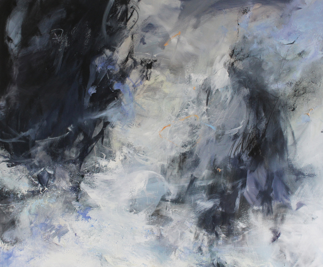 Janette Kerr, 'Sea Storm - Stack of Breiness', 2018, Cadogan Contemporary