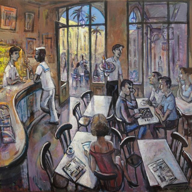 , 'Café i marro,' 2018, Sala Parés