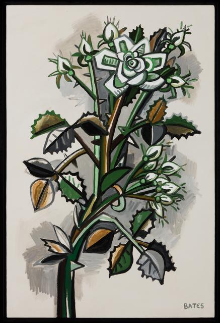 David Bates, 'Rose Branch', 2016, Talley Dunn Gallery