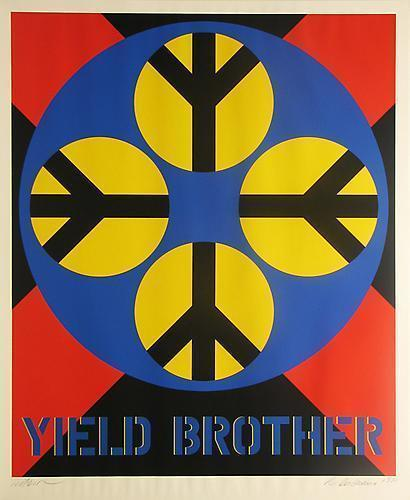 Robert Indiana, 'Yield Brother,' 1971, Vertu Fine Art