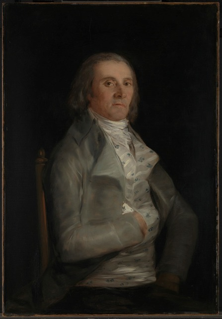, 'Don Andres del Peral,' before 1798, The National Gallery, London