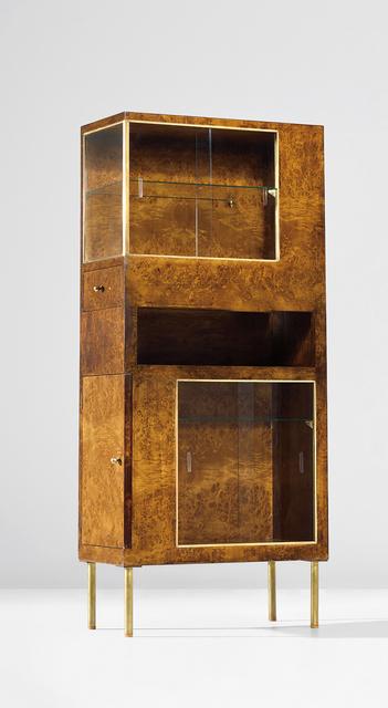 Pietro Lingeri, 'Rare cabinet, designed for the 'Sala dei gabinetti di prova' at the IV Monza Triennale', circa 1930, Phillips