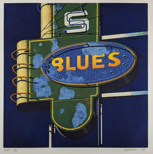 , 'Blues,' 1989, Alpha 137 Gallery