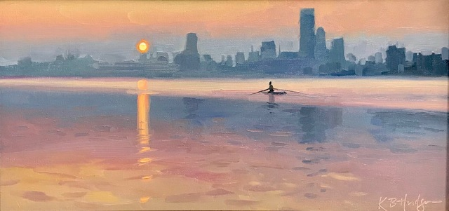 , 'Early Morning on the River,' ca. 2018, Copley Society of Art