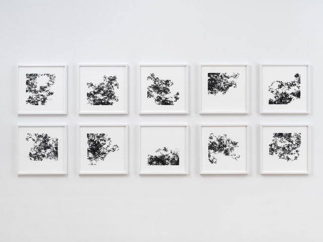, 'Ten Machine Drawings (2018-02-16),,' 2018, bitforms gallery