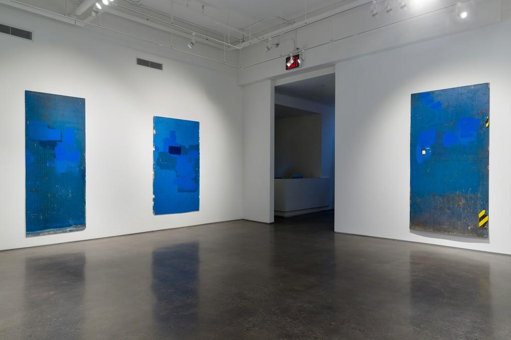 Installation view: Jean Shin, Surface Tension, 2016. © Etienne Frossard.