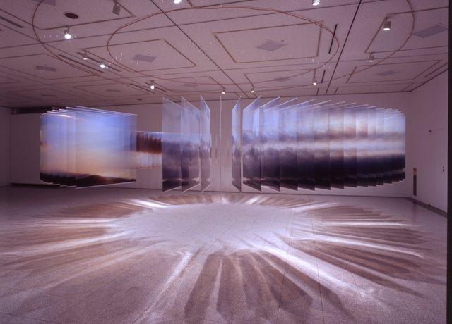 , 'Layer Drawing - the Tactual Sky,' 2013, Yumiko Chiba Associates