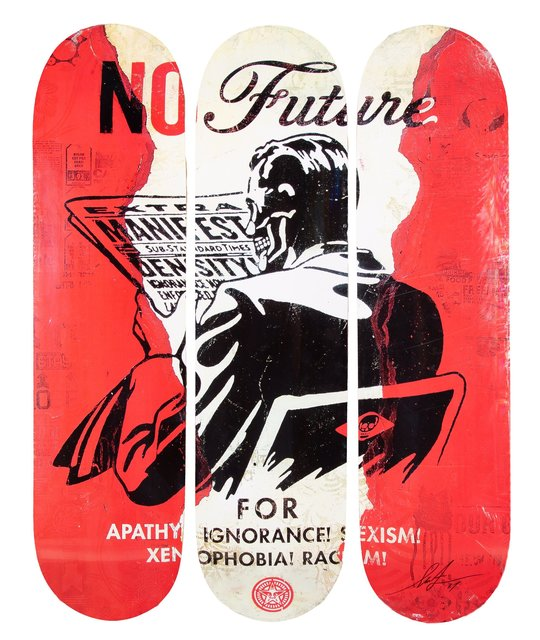 Shepard Fairey, 'No Future', 2017, Heritage Auctions