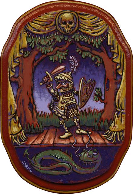 , 'Sir Baffle and the Dragon,' , Helikon Gallery & Studios