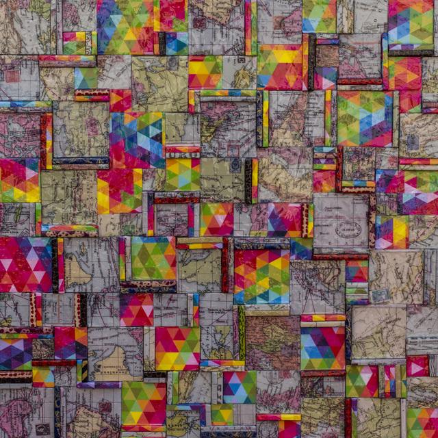 """, 'Sin Título, de la serie """"todos, IGUAL"""" 80 x 80 x 2 cm.,' 2017, Galería de Arte Imaginario"""