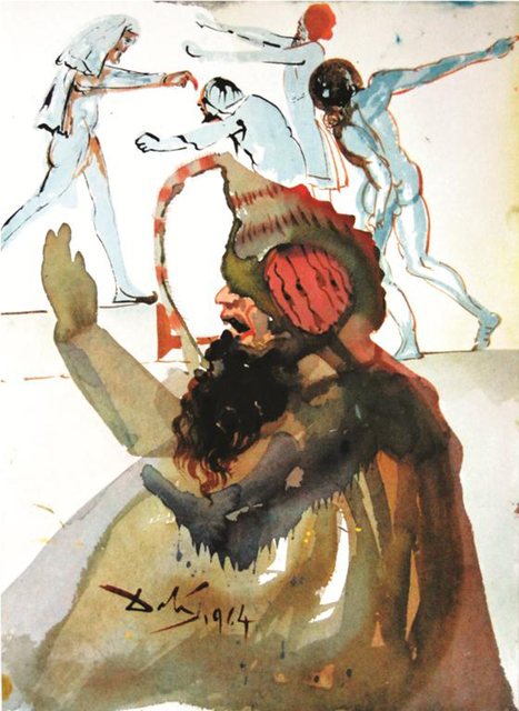 Salvador Dalí, 'Joseph And His Brothers In Egypt', 1967, Baterbys