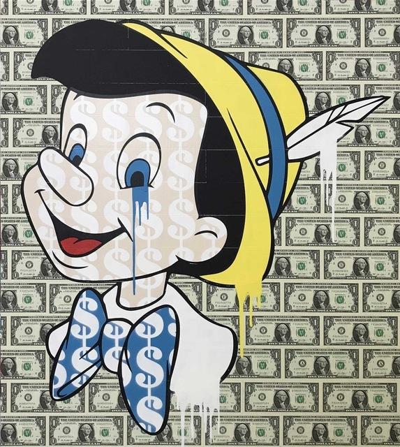 , 'Dollars + Sense - Pinocchio,' 2017, NextStreet Gallery