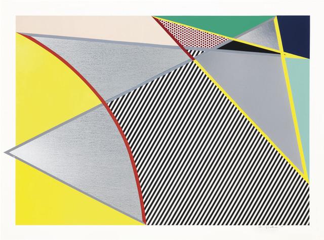 Roy Lichtenstein, 'Imperfect 67 5/8 x 91 1/2, from Imperfect Series', 1988, Zeit Contemporary Art