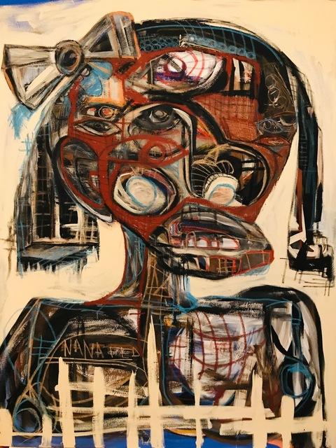 Genesis Tramaine, 'Between Rock and Circumstance', 2018, Richard Beavers Gallery