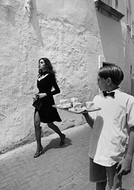 Ferdinando Scianna, 'ITALY. Benevento. Italian actress Maria-Grazia CUCINOTTA.', 1995, Magnum Photos