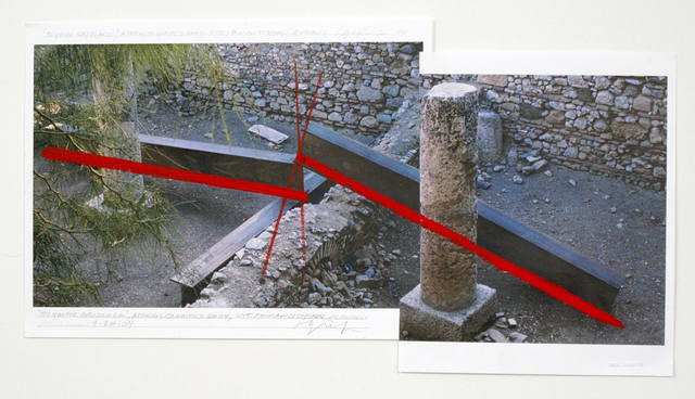 , 'Olympic Gridlock, Athens Olympics 2004, Site/Roman Cistern, 9.20.2004,' 2004, Minus Space