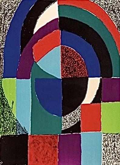 Sonia Delaunay, 'Cathédrale ', 1971, Print, Color lithograph on wove paper, BOCCARA ART