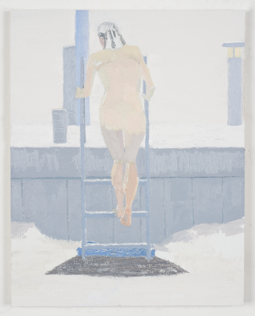 , 'Ice Bather; Afternoon,' 2015, Geary