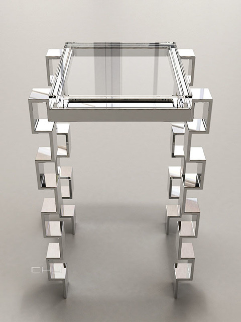 , 'Link Accessory Table,' 2014, Johannes Vogt Gallery