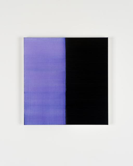 Callum Innes, 'Untitled Lamp Black No 7', 2019, i8 Gallery