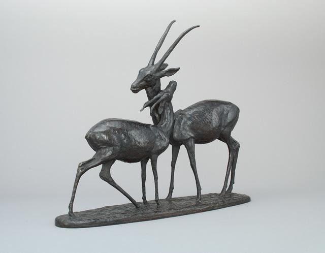 , 'Gazelles couple,' ca. 1935, Galerie Dumonteil