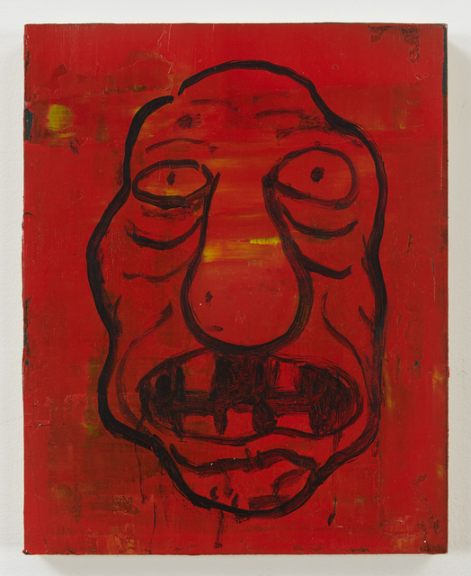 , 'Self-Portrait Red,' 2015, Pierogi