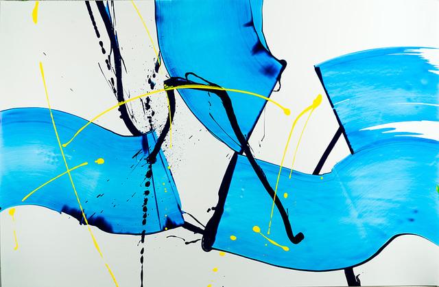 , 'Back to Blue,' 2016, Octavia Art Gallery
