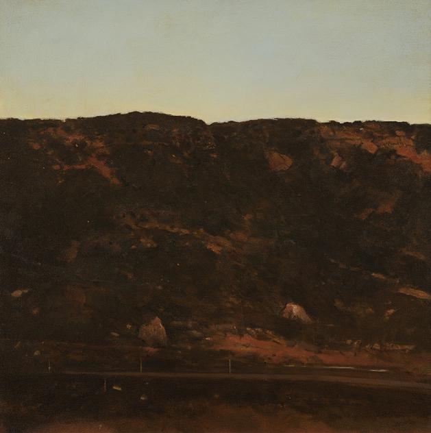 Bryan Westwood, 'Jindabyne Evening', 1980, Painting, Oil on canvas, Charles Nodrum Gallery