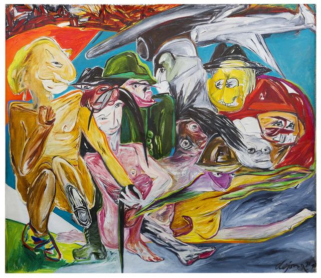 Jacqueline De Jong.Jacqueline De Jong After The War 1995 1996 Artsy
