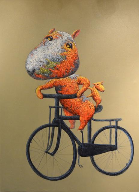 Wang Zhi Wu 王志武, 'Bike Ride', 2015, Masters Gallery