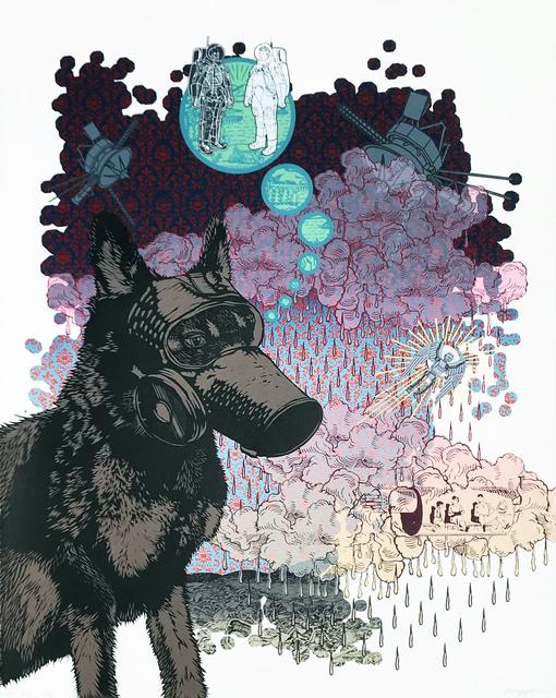 , 'Plague Dog,' 2018, Remarque Printshop